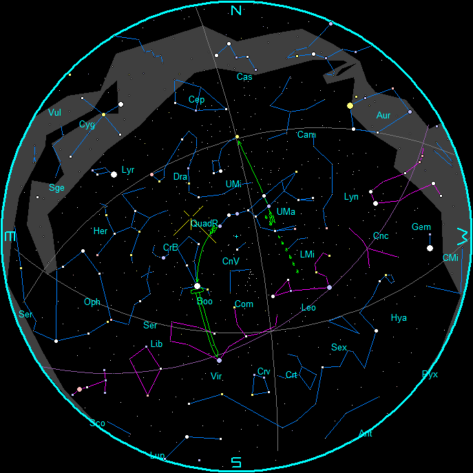 January Morning Star Chart January Morning Star Chart