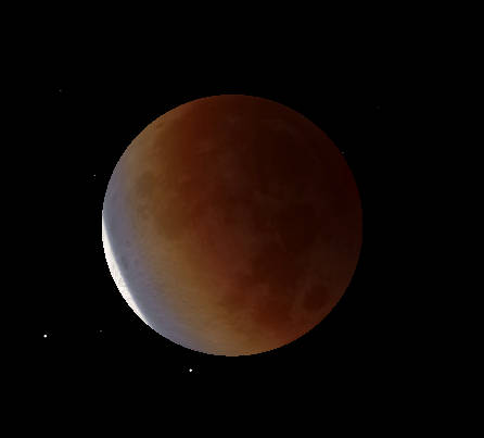 Lunar Eclipse maximum 4:04 am 11/19/21