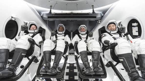 SpaceX Crew-1 Crew