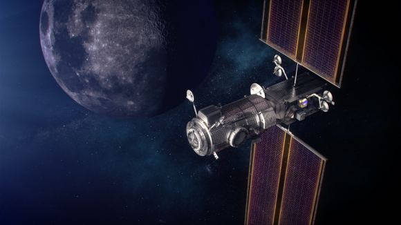 Lunar Gateway PPE and HALO modules