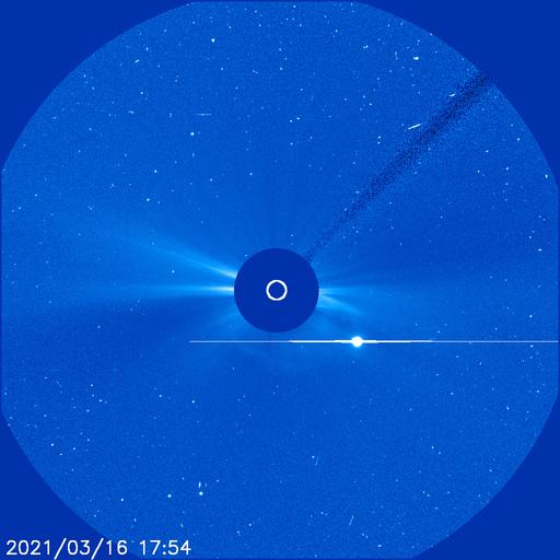 Venus in SOHO LASCO C3 image