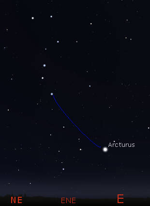 How to find Arcturus