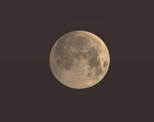 Moon deep in the penumbra