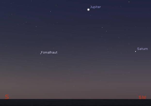 Jupiter Saturn in the morning