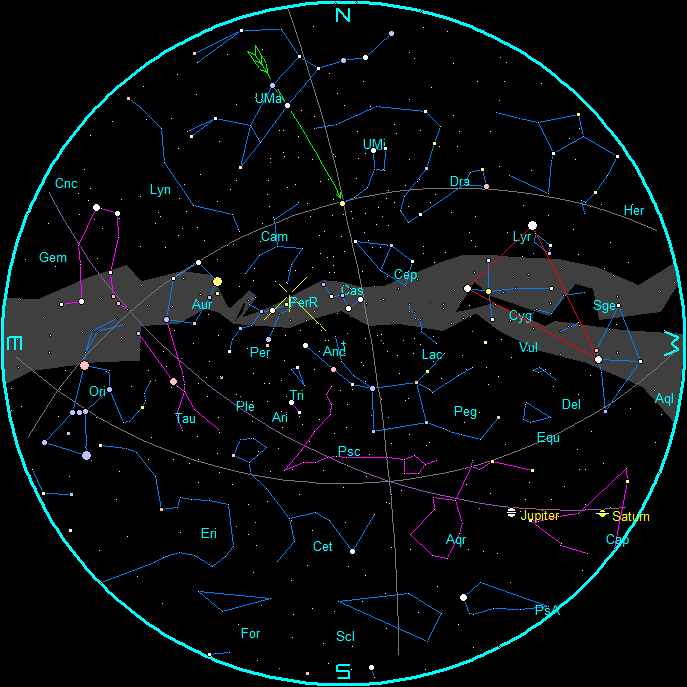 StarChart August Morning