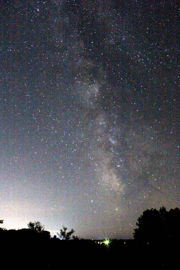 The Southern Milky Way from Traverse City