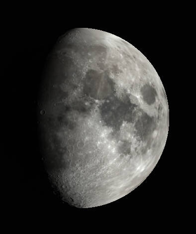 Low magnification view of the Moon