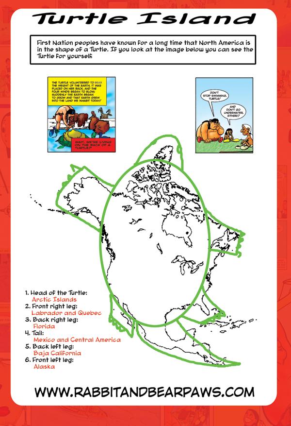 Anishinaabe North America is Turtle Island
