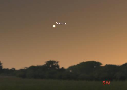 Venus in twilight